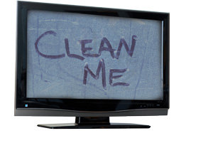 How to clean your HDTV screen