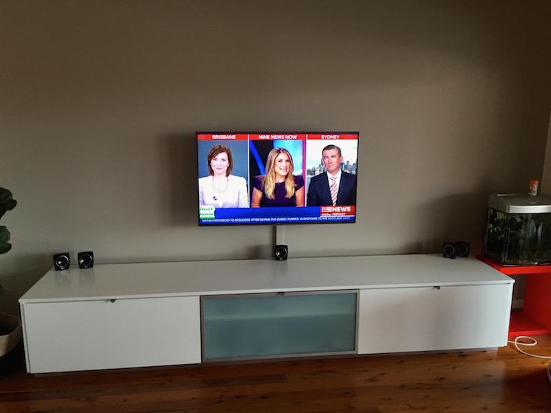 TV installation Seaforth Northern Beaches Sydney