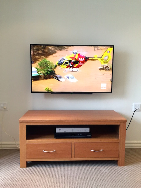 Television Wall Mount Collaroy Plateau Northern Beaches