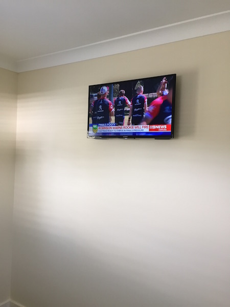 Bedroom TV Wall Mount