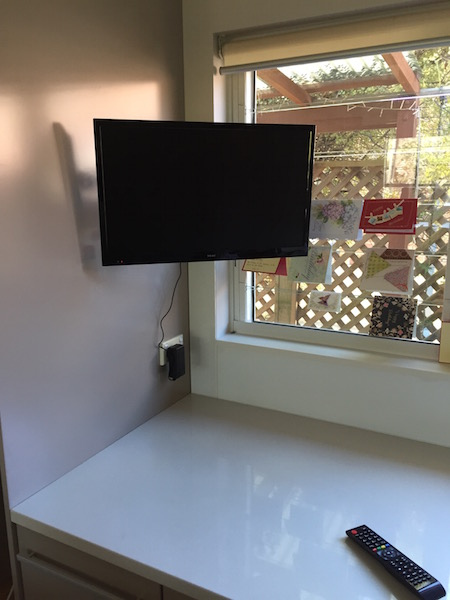 Kitchen TV Wall Mount