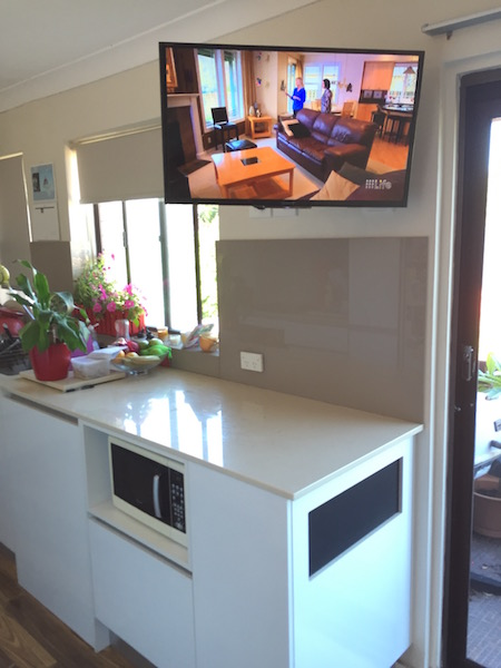 Kitchen Tv Wall Mount Archives Tv Installation Northern