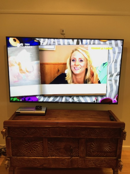 Samsung 75in Television Wall Mounting Avalon Beach Sydney's Northern Beaches