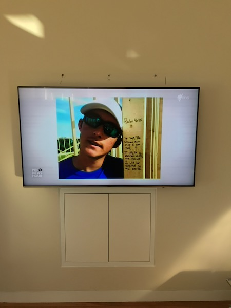Samsung Wall Mounting and installation in Manly Sydney