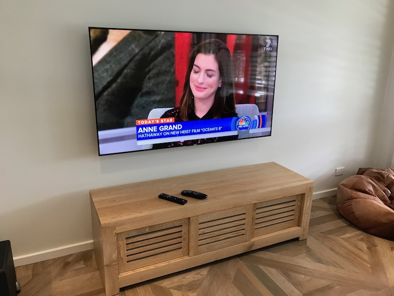 Sony Television Installation and Wall Mounting Sydney
