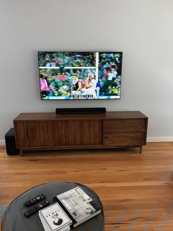 Samsung TV Installation and Wall Mounting in Newport Sydney